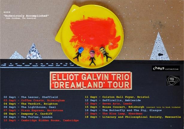 Elliot Galvin Trio UK Tour Poster